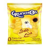 Crunchos Natural Salted Potato Chips 25g