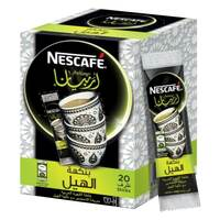 Nescafe Arabiana Arabic Cardamom Coffee 3g x Pack of 20