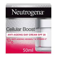 Neutrogena face cream cellular boost anti-ageing day cream 50ml