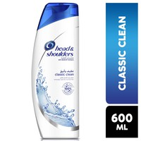Head & shoulders classic clean anti-dandruff shampoo for normal hair 600 ml