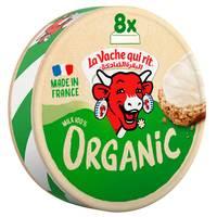 La Vache qui rit Organic Spreadable Cheese Triangles 8 Portions 120g