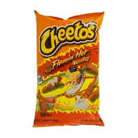 Cheetos Crunchy Flamin'Hot Cheese Snacks 226.8g