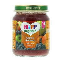 Hipp Organic Apple and Blueberry Jam 125g