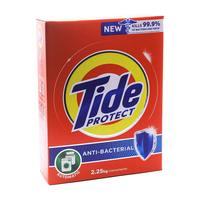 Tide low foam anti bacterial powder detergent 2.25 Kg
