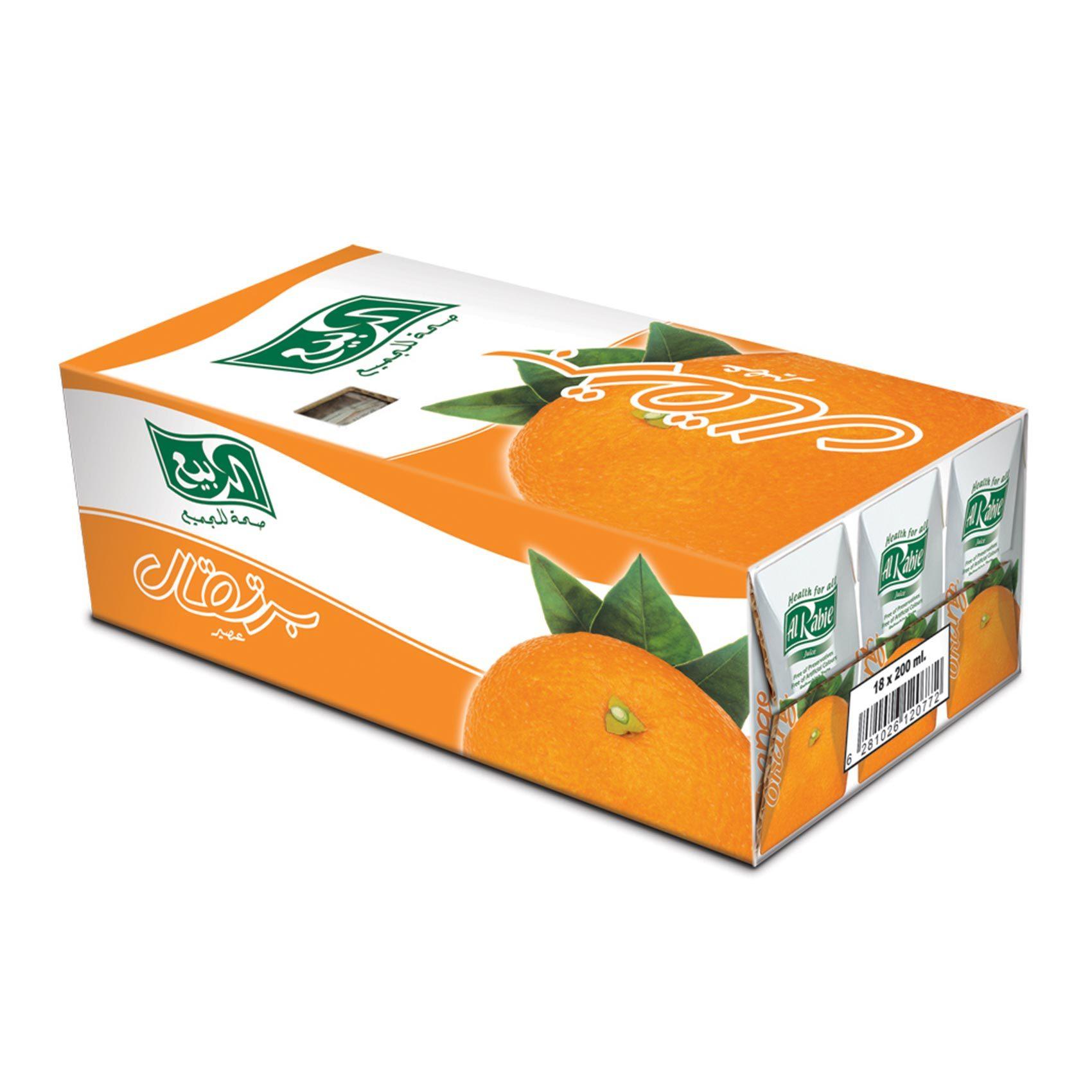 عصير ربيع برتقال