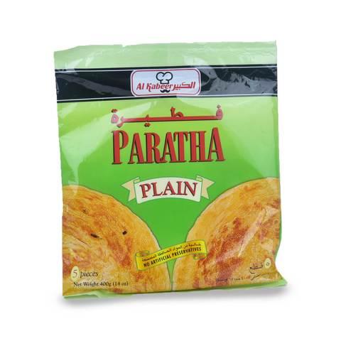 Buy Alkbeer Plain Paratha Bread 400 G Online Shop Frozen Food On Carrefour Saudi Arabia