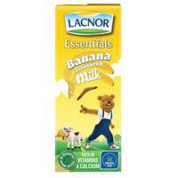 Lacnor Essentials Banana Flavoured Milk 180ml