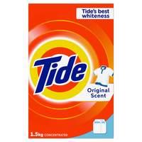Tide Laundry Powder Detergent Top Load Original Scent 1.5kg