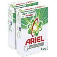 Ariel Automatic Laundry Powder Detergent Original Scent 2.5 kg x2