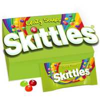 Skittles Candy Sours 38g x Pack of 14