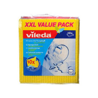 Vileda Sponge Cloth 10 Pieces