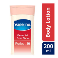 Vaseline essential even tone perfect 10 body lotion 200 ml