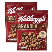 Kellogg's Granola Chocolate 340gx2