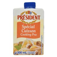 President Special Cussion Cooking Pro Cream 200ml