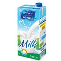 Almarai UHT Milk Full Fat Vit Milk 1l