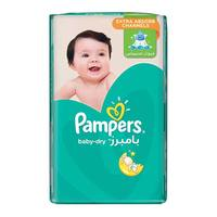 Pampers Baby-Dry Diapers Size 3 Midi Jumbo Pack 68 diapers