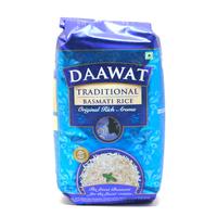 Daawat Traditional White Indian Basmati Rice 1kg