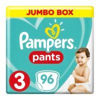 Pampers 3 jumbo box pants 6 - 11 kg x 96
