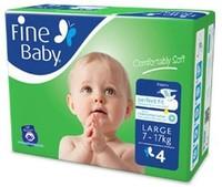 Fine Diapers Jumbo Large 44 Pads
