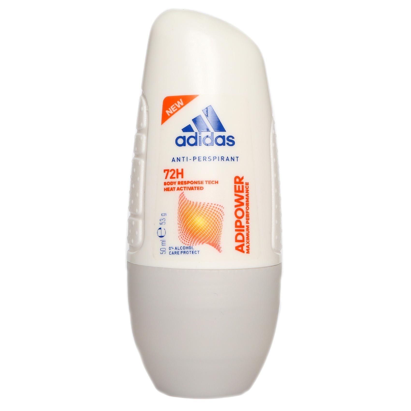 tienda de comestibles Represalias salir  Buy Adidas Adipower Antiperspirant Roll-On Women 50ml Online - Shop Beauty  & Personal Care on Carrefour UAE
