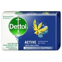 Dettol Anti-Bacterial Bar Soap Active 120g