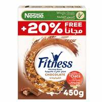 Nestle Fitness Chocolate Breakfast Cereal Promo Pack 450g