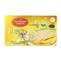 California Garden Tuna Slices with Black Pepper And Lemon Juice 120g