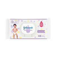 Johnsons Baby Ultimate Clean Wipes 48 Sheets