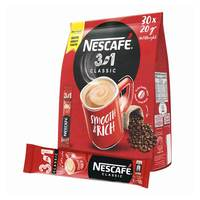 Nescafe 3in1 classic instant coffee 20 g x 30 sticks