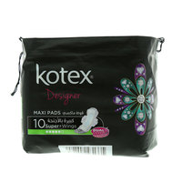 Kotex Maxi Super Pads with Wings x Pack of 10