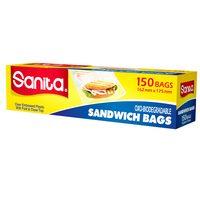 Sanita Sandwich Bag 150 Bags
