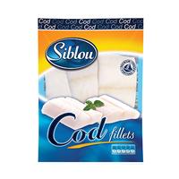 Siblou Cod Fillets Portions 500GR