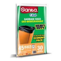 Sanita club bundle 30 gallons x 45 bags