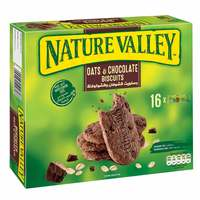 Nature Valley Chocolate And Oats Biscuits 25g x Pack of 16