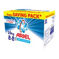 Ariel automatic laundry powder high foam original scent saving box 5 Kg × 2