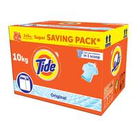 Tide automatic laundry powder high foam original scent saving box 5 Kg × 2