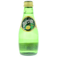 Perrier Natural Sparkling Lemon Flavor Mineral Water 200ml