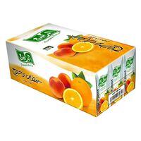 Al Rabie Premium Orange And Peach Nectar Juice 330ml x Pack of 18