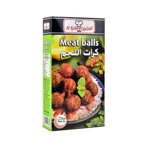 Buy Al Kabeer Meat Ball 300 G Online Shop Frozen Food On Carrefour Saudi Arabia