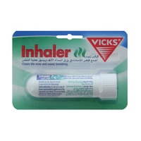 Vicks inhaler clears the nose and eases breathing 1 ml