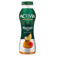 Activia YoghurtGo Drinkable Youghurt Snack Peach-Mango 280ml