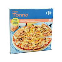 Carrefour pizza 4 cheeses rectan gular 600 g