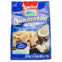 Loacker Quadratini Coconut Wafers 250g