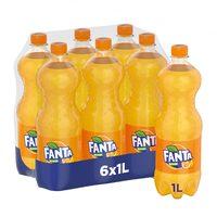 Fanta orange 1 L x 6