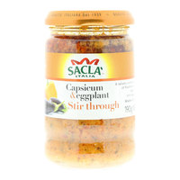 Sacla Italia Capsicum Eggplant Stir Through 190g