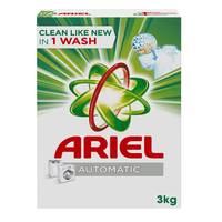 Ariel Automatic Laundry Powder Detergent Original Scent 3kg