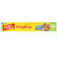 Glad Cling Wrap 200 Sq. Ft