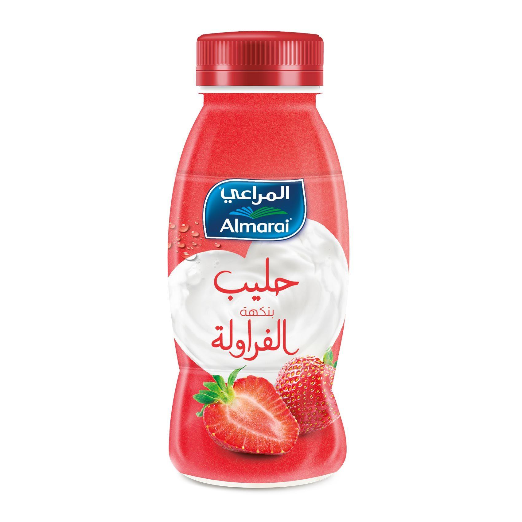 Buy Almarai Flavor Milk Strawberry 250 Ml Online Shop Fresh Food On Carrefour Saudi Arabia