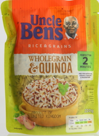 Uncle Bens Rice And Whole Grain Quinoa 220g