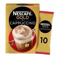 Nescafe gold cappuccino instant coffee 17 g x 10